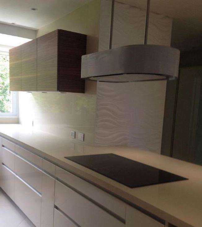 Moderne benutzerdefinierte Küche