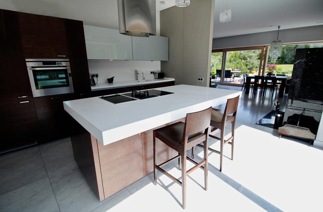 trendige k che. Black Bedroom Furniture Sets. Home Design Ideas