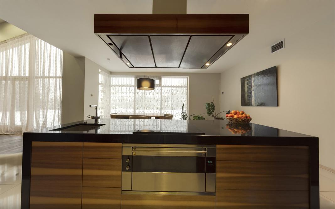 Elegante englische Küche