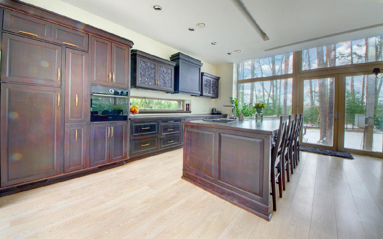 mix der klassischen k che im modernen innere. Black Bedroom Furniture Sets. Home Design Ideas