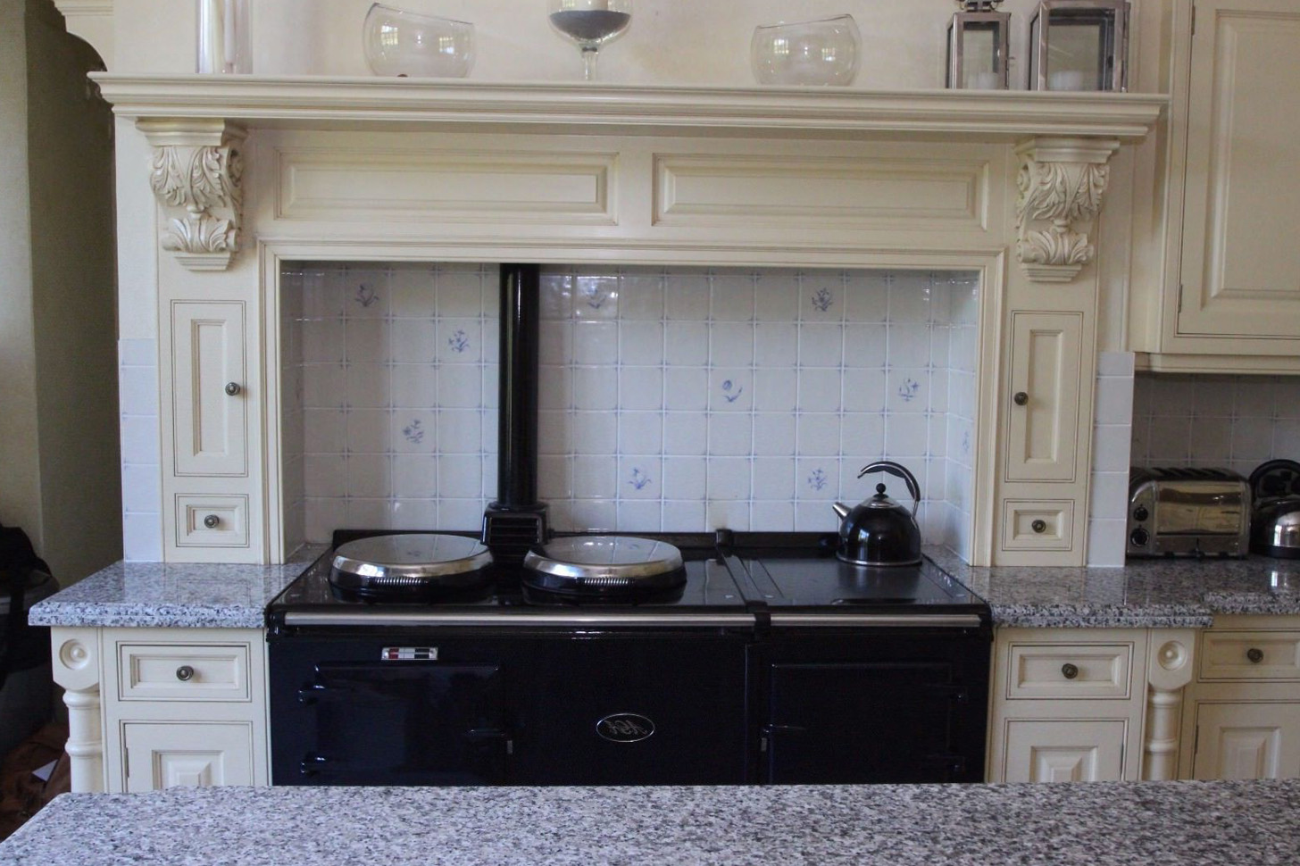klassische viktorianische k che. Black Bedroom Furniture Sets. Home Design Ideas