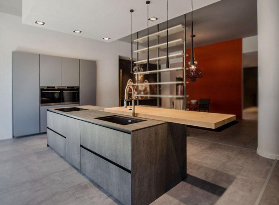 Die schöne offene Küche 5