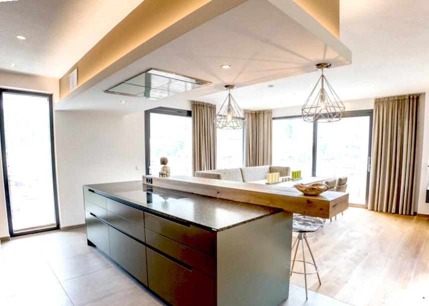 Elegante offene Küche 2