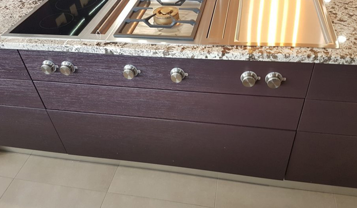 Der modische Granit in der natürlichen Küche 5