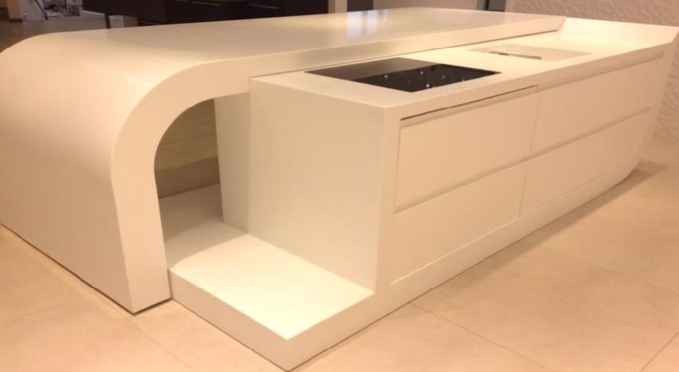 Die ausgezeichnete Form der modernen Küche 5