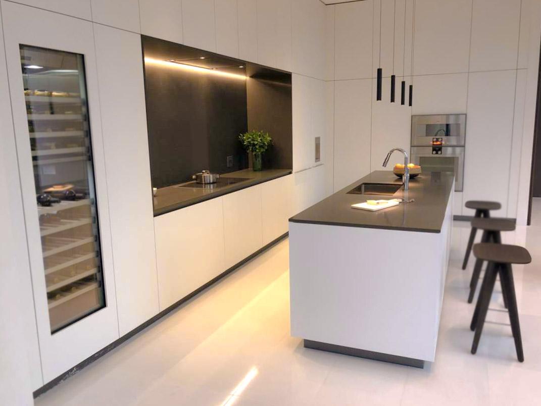 Die beeindruckende hohe Küche 1