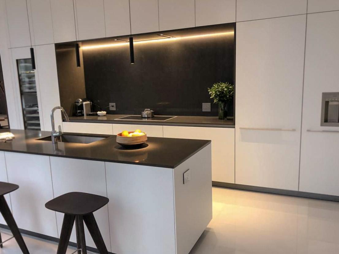Die beeindruckende hohe Küche 2