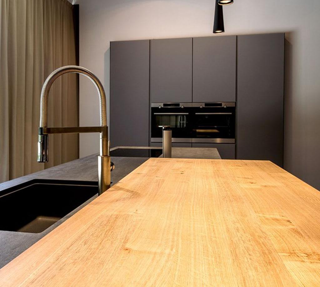 Die schöne offene Küche 2