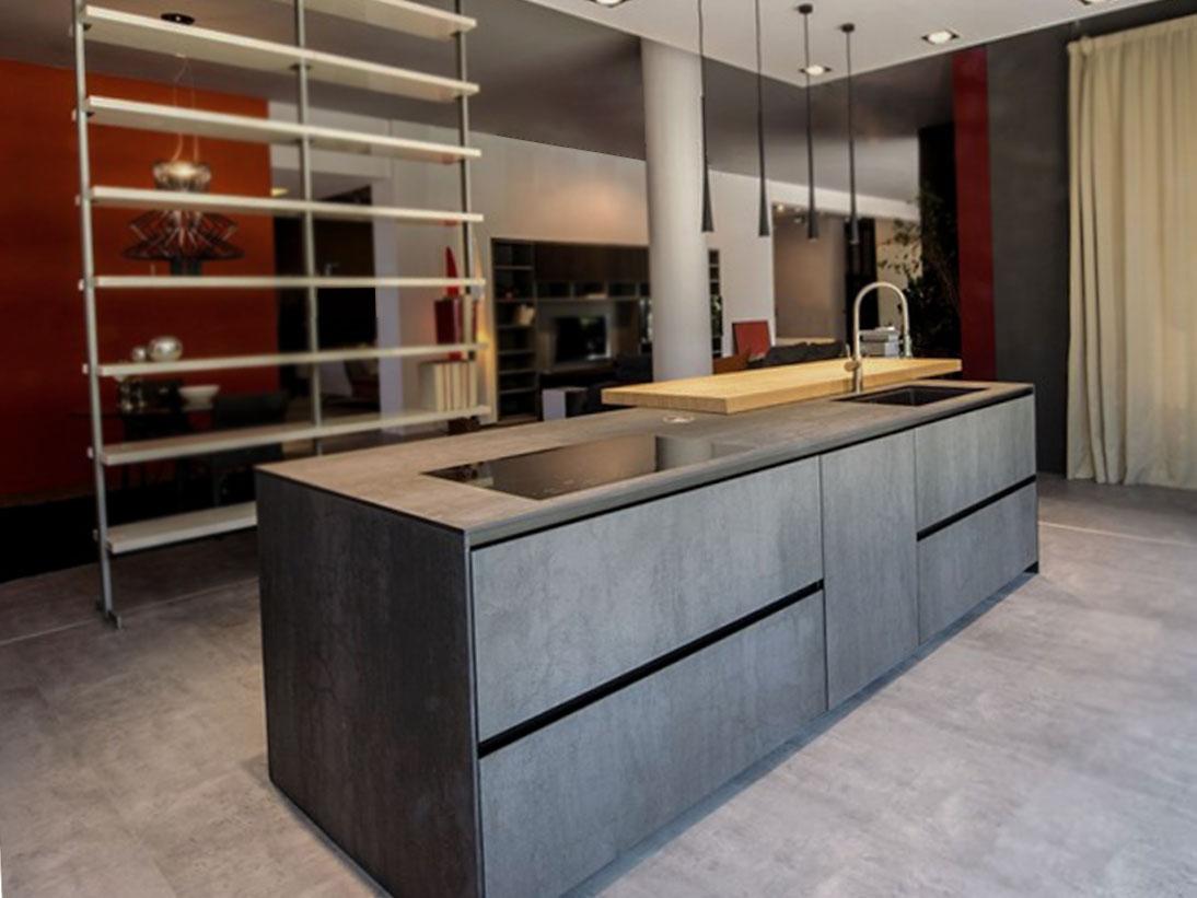Die schöne offene Küche 4