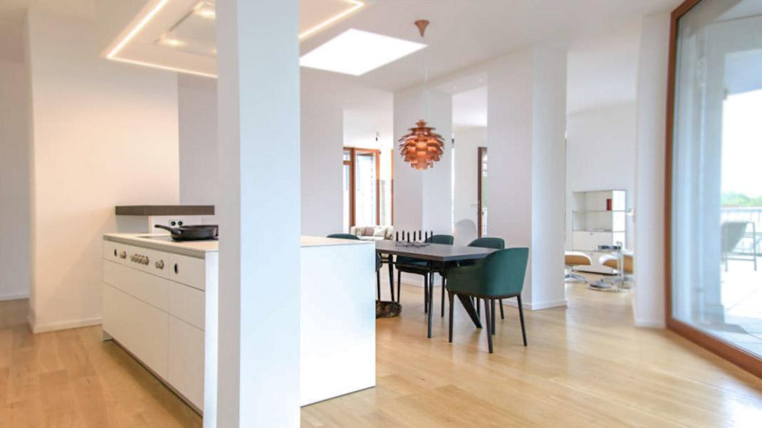 Die zeitgenössische weiße Küche 5