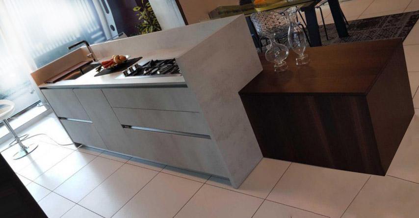 Es ist sehr heimlich und elegant in der modernen Küche 5